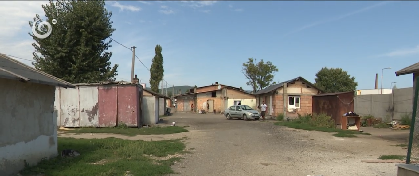 Settlement where Roma and Police Clashed