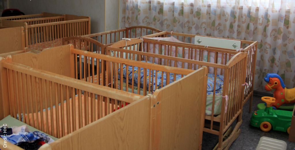 """Baby Room"" in Ukrainian Institution"